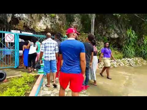 Inside Green Grotto Caves - Jamaica