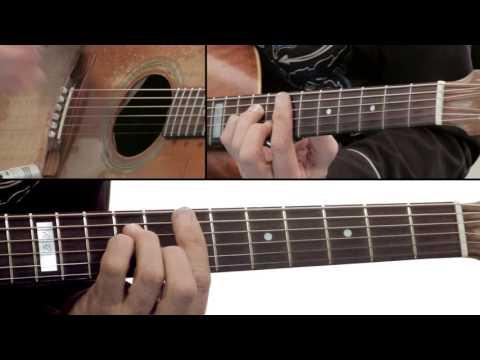 Tommy Emmanuel Guitar Lesson – Hope Street Right Tri Breakdown