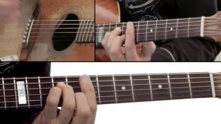 Tommy Emmanuel Guitar Lesson - Hope Street Right Tri Breakdown