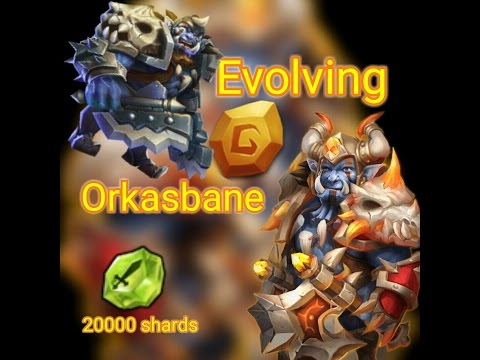 Castle Clash : Best Ever Orksbane Evolution!