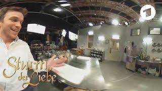 360-Grad-Freitag: Florian Frowein in der Küche   Sturm der Liebe