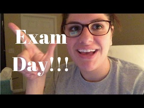 A Day in the Life of a Pharmacy Student | Exam Day!