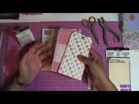 DIY- Simple Gift Tags Tutorial for Craft Project - Tag Book - Shipping Tags