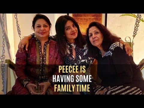 Priyanka Chopra Chills Like A Boss With Her Family In Delhi | SpotboyE Mp3