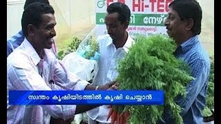 Actor Sreenivasan turns vegetable farming