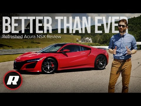 Refreshed Acura NSX Review: Earning our respect
