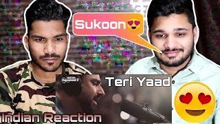 INDIANS React To TERI YAAD | Ali Khan | Nescafe Basement Season 5