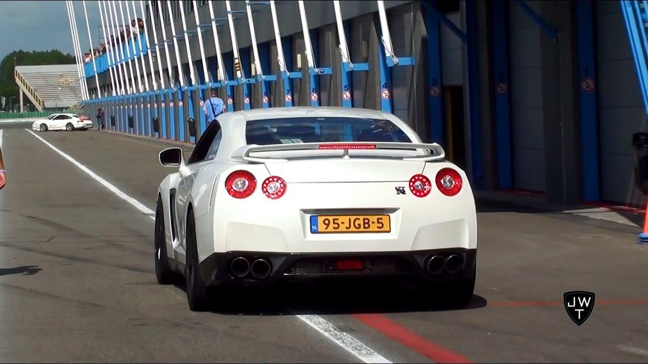 INSANE 1300HP(!) Nissan GTR Godzilla 'Sneaky Tuning' - Dragraces vs 918 Spyder & More!