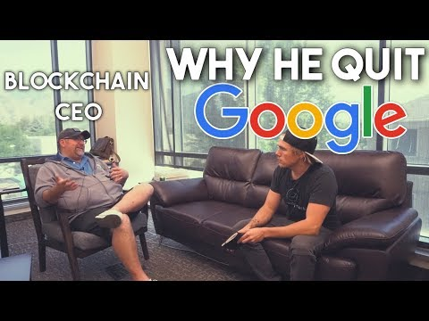 From Google Engineer to Blockchain CEO - Why He QUIT (Nash Foster)