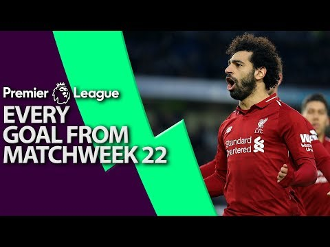 Every goal from Premier League Matchweek 22 | NBC Sports