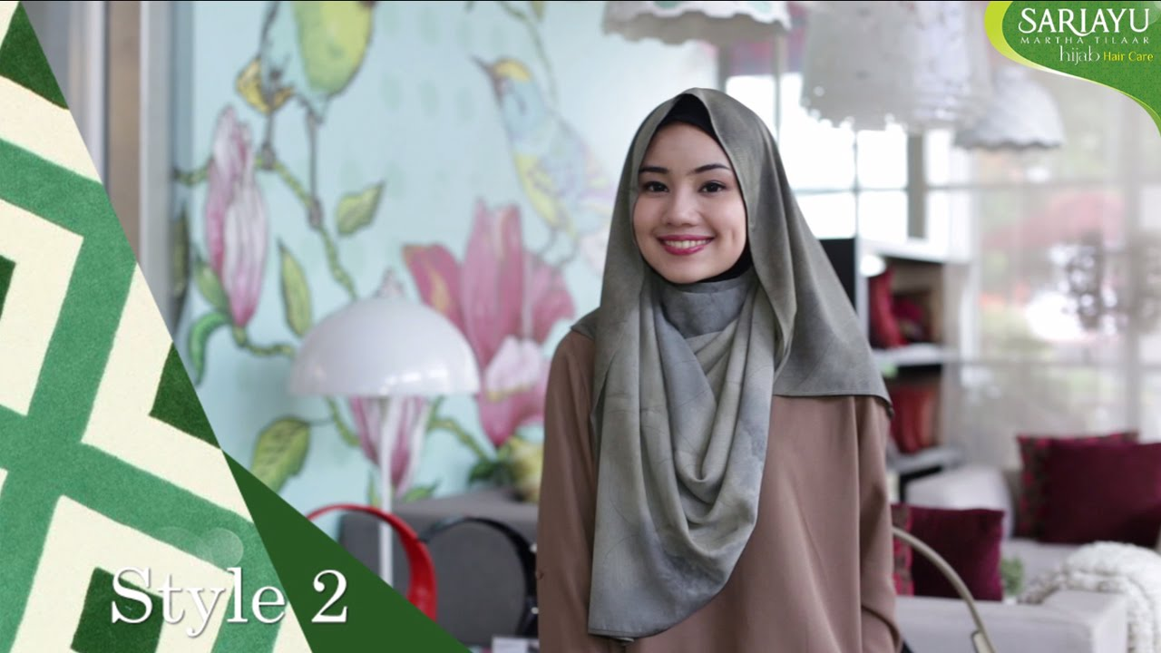 Sariayu Hijab Casual Hijab Tutorial YouTube