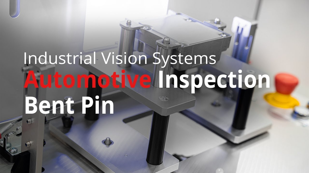 Vision System for Automotive Electronics Bent Pin Inspection