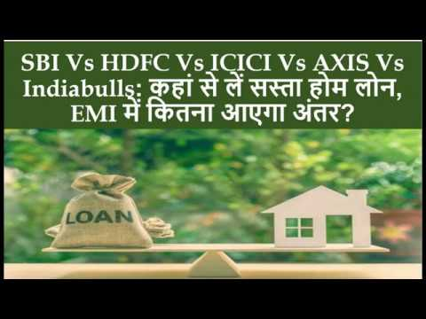 Which Bank Is The Best For Home Loan? | SBI Vs ICICI Vs HDFC Vs Axis Vs Indiabulls | Cheap Home Loan