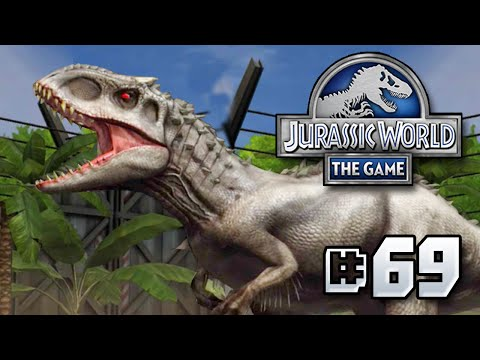 INDOMINUS REX & HYBRIDS + GIVEAWAY!! || Jurassic World - The Game - Ep 69 HD