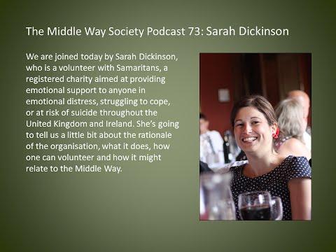 Sarah Dickinson on Samaritans
