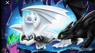 Light Fury X Toothless- Let Me Love You Tribute