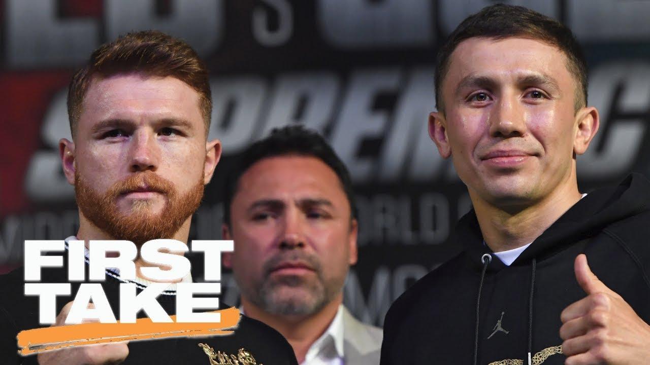 First Take previews Canelo Alvarez vs. Gennady Golovkin fight | First Take | ESPN