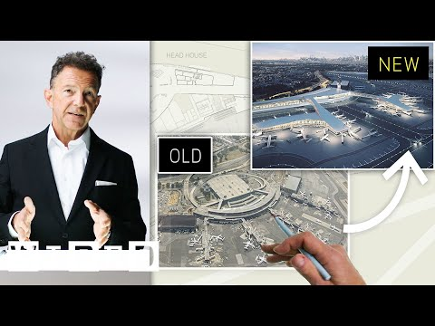 Airport Expert Creates The Ideal Layout For LaGuardia Airport (New York) | WIRED
