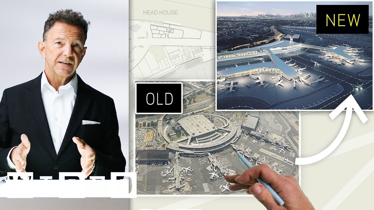 Download Airport Expert Creates the Ideal Layout for LaGuardia Airport (New York) | WIRED