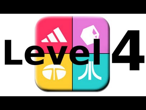Logos Quiz Game - Level 4 - Walkthrough - All Answers