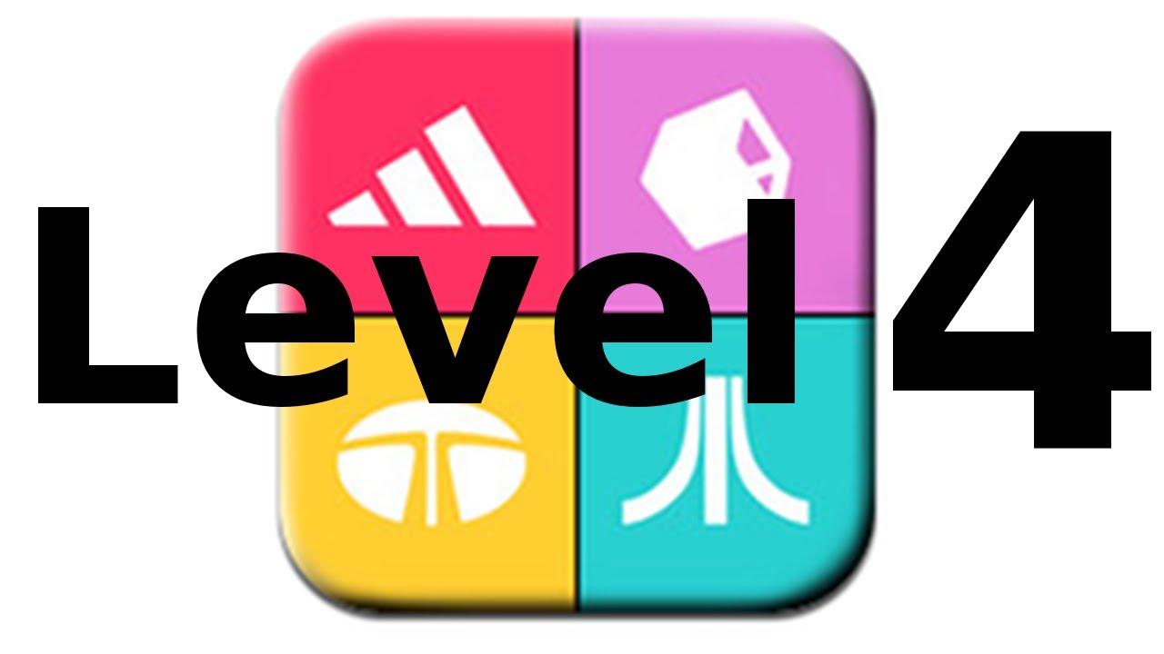 Logos Quiz Game Level 4 Walkthrough All Answers Youtube