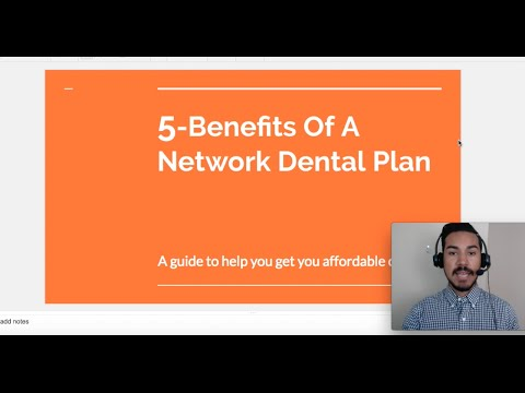 5-Benefits Of A Network Dental Plan