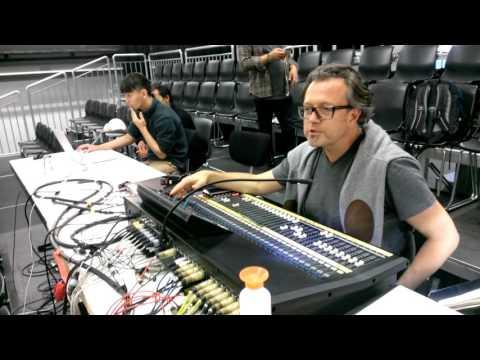Stevie Jonathan Electronic setup Frankfurt LAB