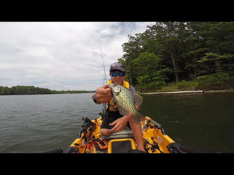 Slayingthe post spawn crappie on wacky worms and plastic for Seneca lake fishing report