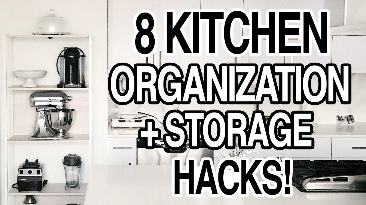 Kitchen Storage Hacks Pantry Organization Ideas
