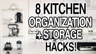 Download Mp3 Kitchen Storage Hacks + Pantry Organization Ideas!