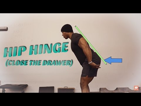 How To Hip Hinge (Easiest Cue To Execute It Correctly) (Powerlifting)