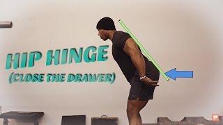 How To Hip Hinge