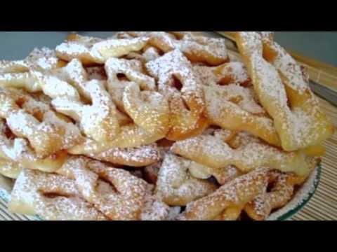 Рецепт пышного хвороста на кефире — Кулинарные рецепты