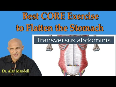 The Best Core (Medically Proven) Exercise To Flatten Your Stomach - Dr Mandell