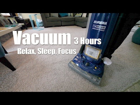 Vacuum Cleaner Sound and Video 3 Hours - Relax, Focus, Sleep, Soothe Baby