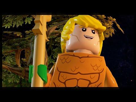 LEGO BATMAN 3 - AQUAMAN FREE ROAM GAMEPLAY!