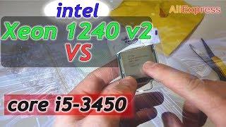 Апгрейд 1155 сокета. Распаковка и тест Intel Xeon 1240 V2  Phleyd