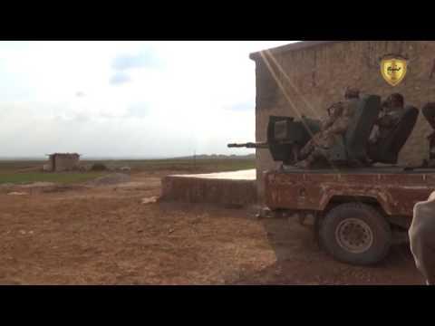 مشاهد من جبهة منبج الغربية