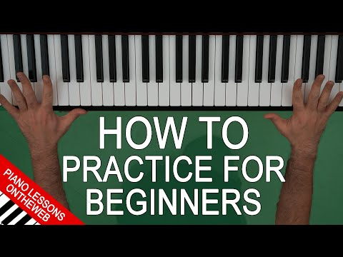 The Best Practice Routine for Beginner Piano Players