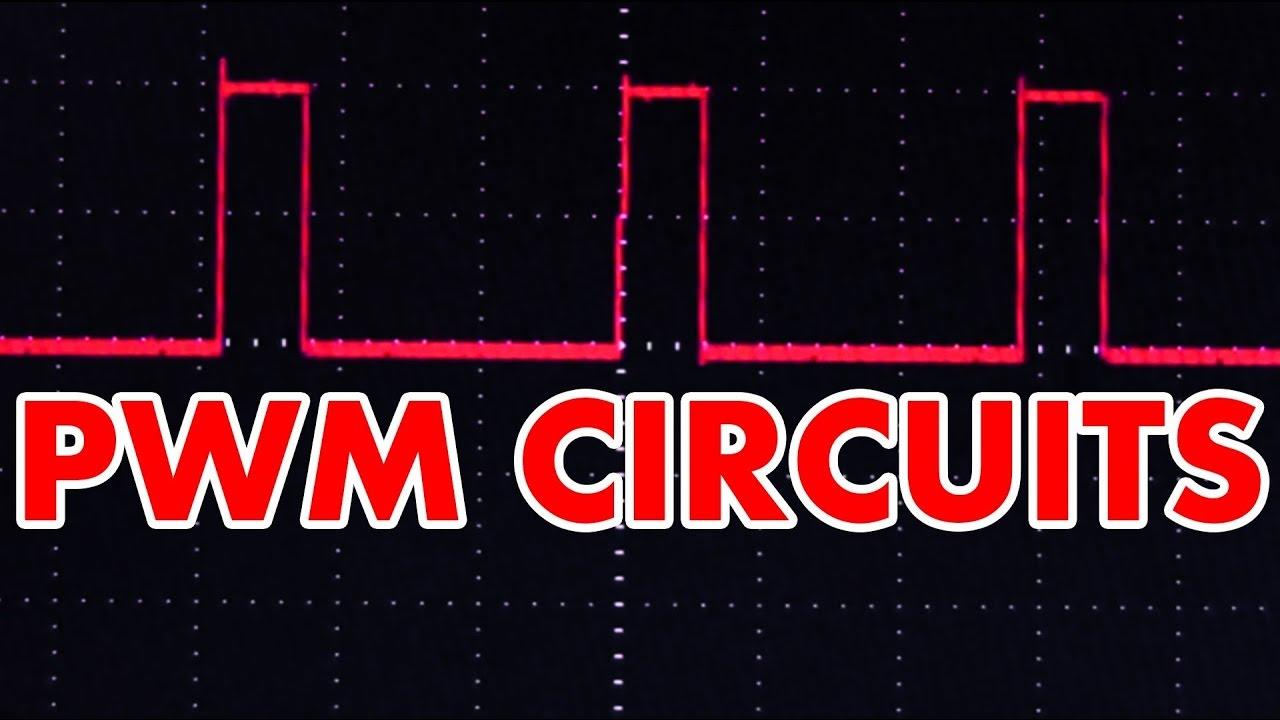 Pulse Width Modulation Experiment Using Ic 741 Youtube Square Wave Generator Ua