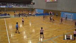 5日 ハンドボール女子 国体記念体育館Cコート 栃木商業×今治東 1回戦 1