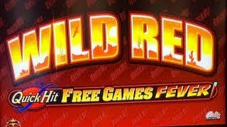 BIG WIN! - Quick Hit Wild Red - Quick Hit Fever MAX BET