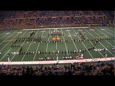 NDSU Gold Star Marching Band Epic Movie Show