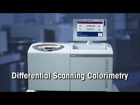 Differential Scanning Calorimeter (DSC) from METTLER TOLEDO