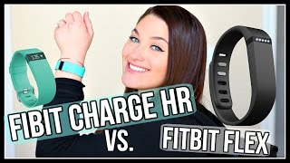 FITBIT CHARGE HR vs. FITBIT FLEX | WHICH IS BETTER? | ThatCLeigh