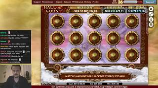 HALL OF GODS JACKPOT LIVE ON STREAM!!