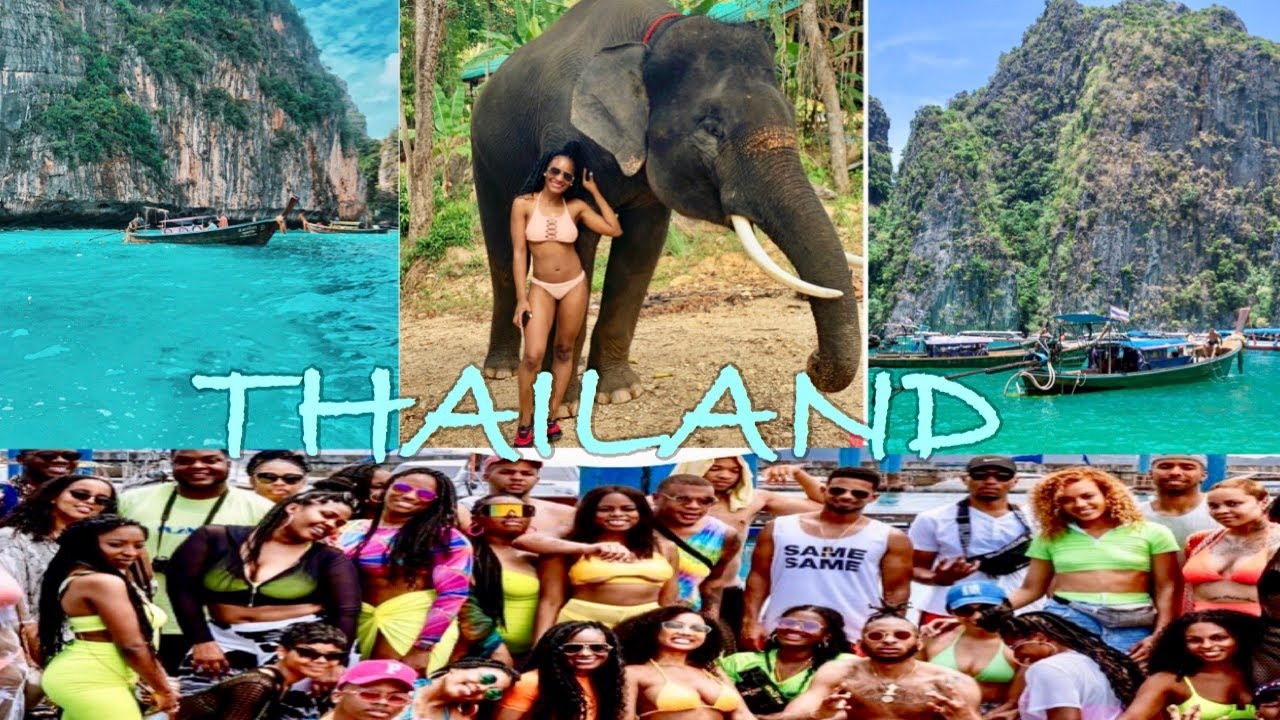THAILAND VLOG| PHUKET, PHI PHI ISLANDS 2019| Black Travel