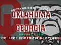 Oklahoma vs Georgia - Previews & Predictions -  Rose Bowl Playoffs 2018 - CFP - OU UGA 2017