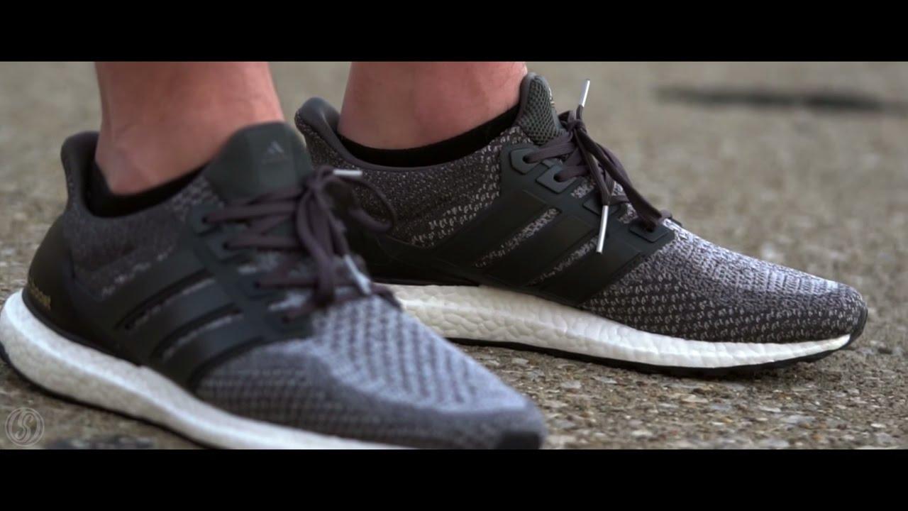 575fb07b968b1 Adidas Ultra Boost 2.0 Mystery Grey On Feet