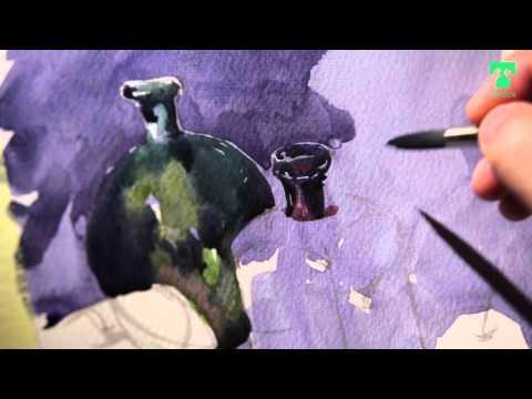 Видеоуроки по живописи акварелью